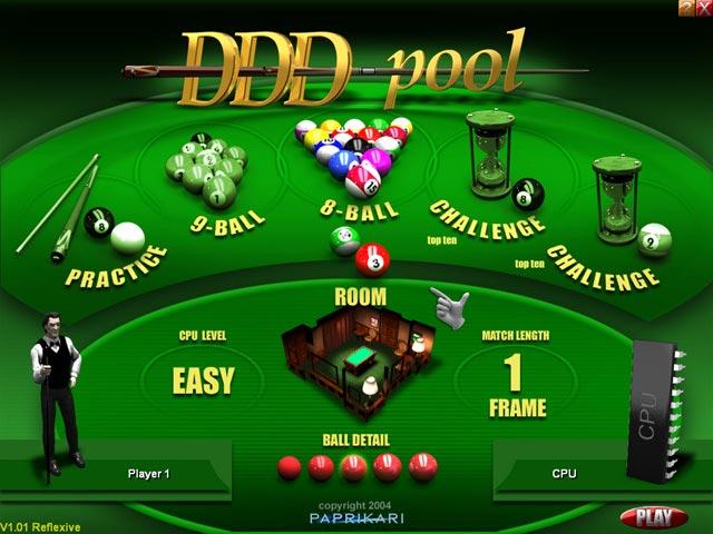 Free download ddd pool screenshot 2