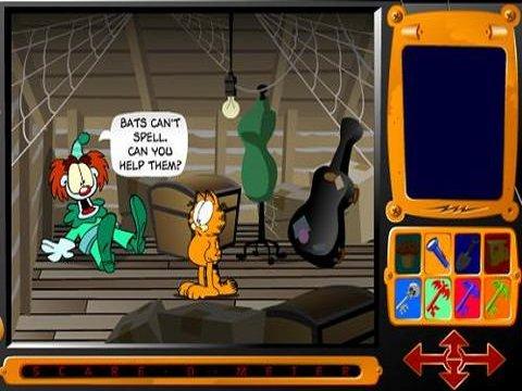 Descarga gratuita Garfields Scary Scavenger Hunt Jugar